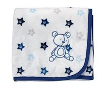 George baby Bear Blanket with Applique