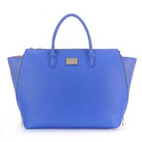 Sandy Lisa Milan Wing Blue Tote