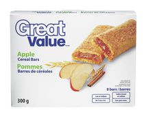 Great Value Apple Cereal Bars