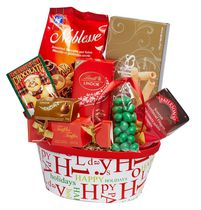 Baskets by On Occasion Happy Holidays Gift Basket
