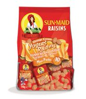Sunmaid Orange Cream Yogurt Raisins Mini-Packs