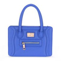 Sac à main Charleston de Sandy Lisa pour iPad Mini en bleu