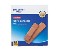 Equate Latex Free Fabric Bandages