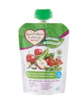 Parent's Choice Organic Apple, Spinach, Zucchini & Strawberry Baby Food Purée