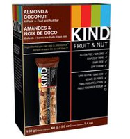 KIND Almond & Coconut Fruit and Nut Bars