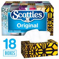 Scotties Regular 2-ply Facial Tissue