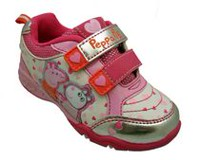 Peppa Pig Toddler Girls' Athletic Shoe 7