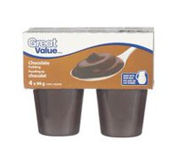 Great Value Chocolate Pudding Cups