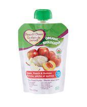 Parent's Choice Organic Apple, Peach & Quinoa Baby Food Purée