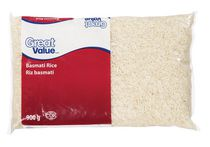 Riz basmati Great Value