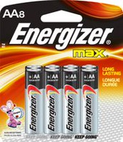 Energizer® MAX® AA-8 Batteries