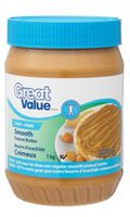 Great Value Light Smooth Peanut Butter