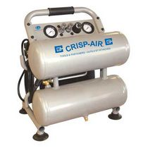 Crisp-Air 1.8 HP, 4 Gallon Oilless Twin Stack Compressor