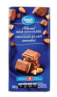 Great Value Almond Milk Chocolate