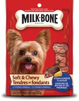 Milk-Bone Soft and Chewy Steak and Cheese Flavour Dog Treats