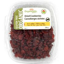Organically Yours Organic Dried Cranberries