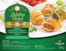 Zabiha Halal Hors d'oeuvre Collection Puff Pastry