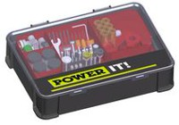 POWER IT! Rotary Tool Accessories Kit with Case