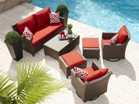 hometrends Richmond 6-Piece Conversation Set