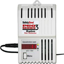 Safety Siren Pro Series 3 Gas Radon Detector