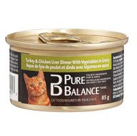 Pure Balance Turkey and Chicken Liver Cat Food
